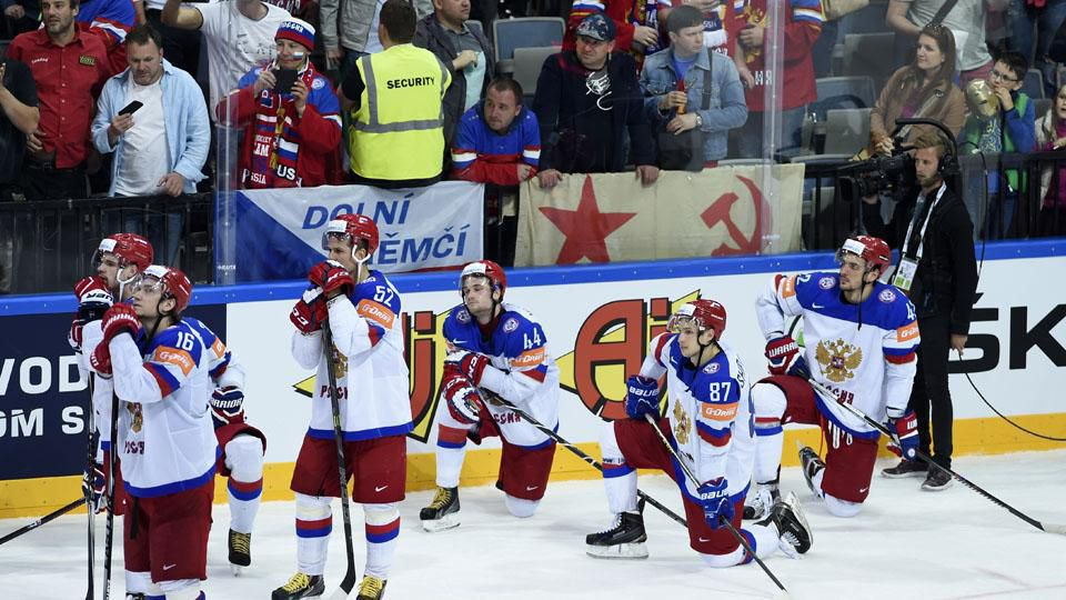 Russia fined for snubbing canadian anthem