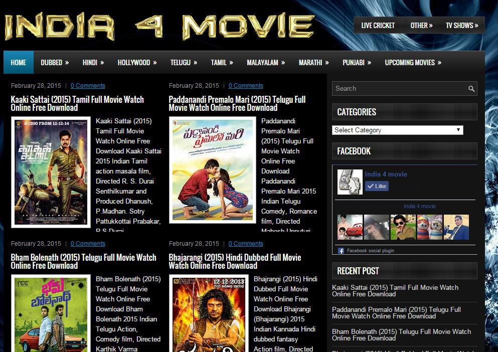 Download new movies 2018 for free
