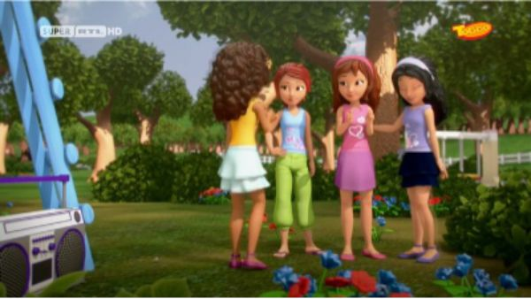 Lego friends episode dating by the book