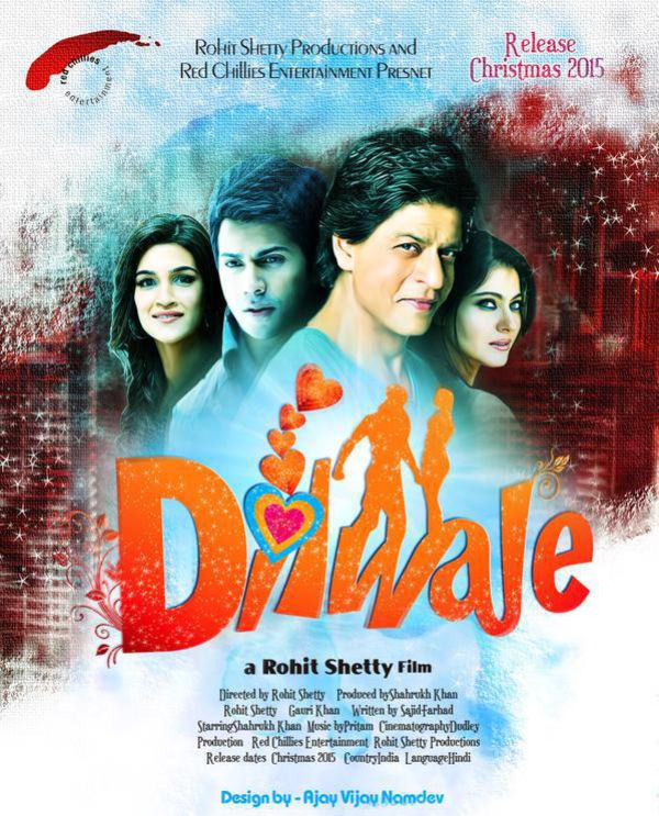 Download Dilwale Full HD Video Songs (MP4)(DVD