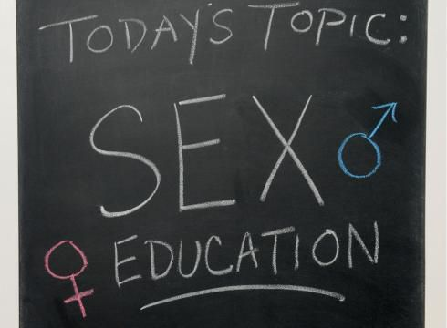 What does sex education include