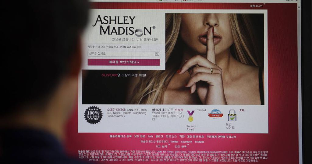 Affair dating site hacked