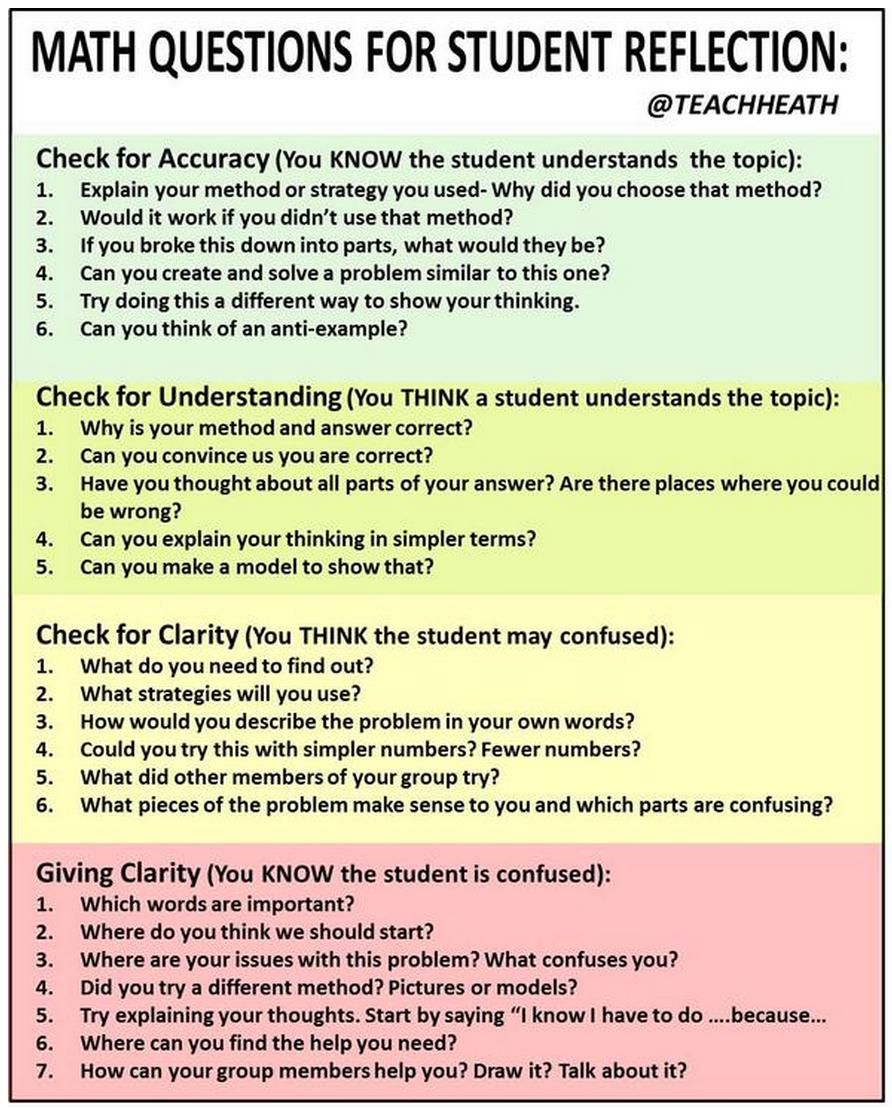 middle school math critical thinking questions Enduring understandings and essential questions indicate the proposed structure for the revision of the math frameworks algebraic thinking.