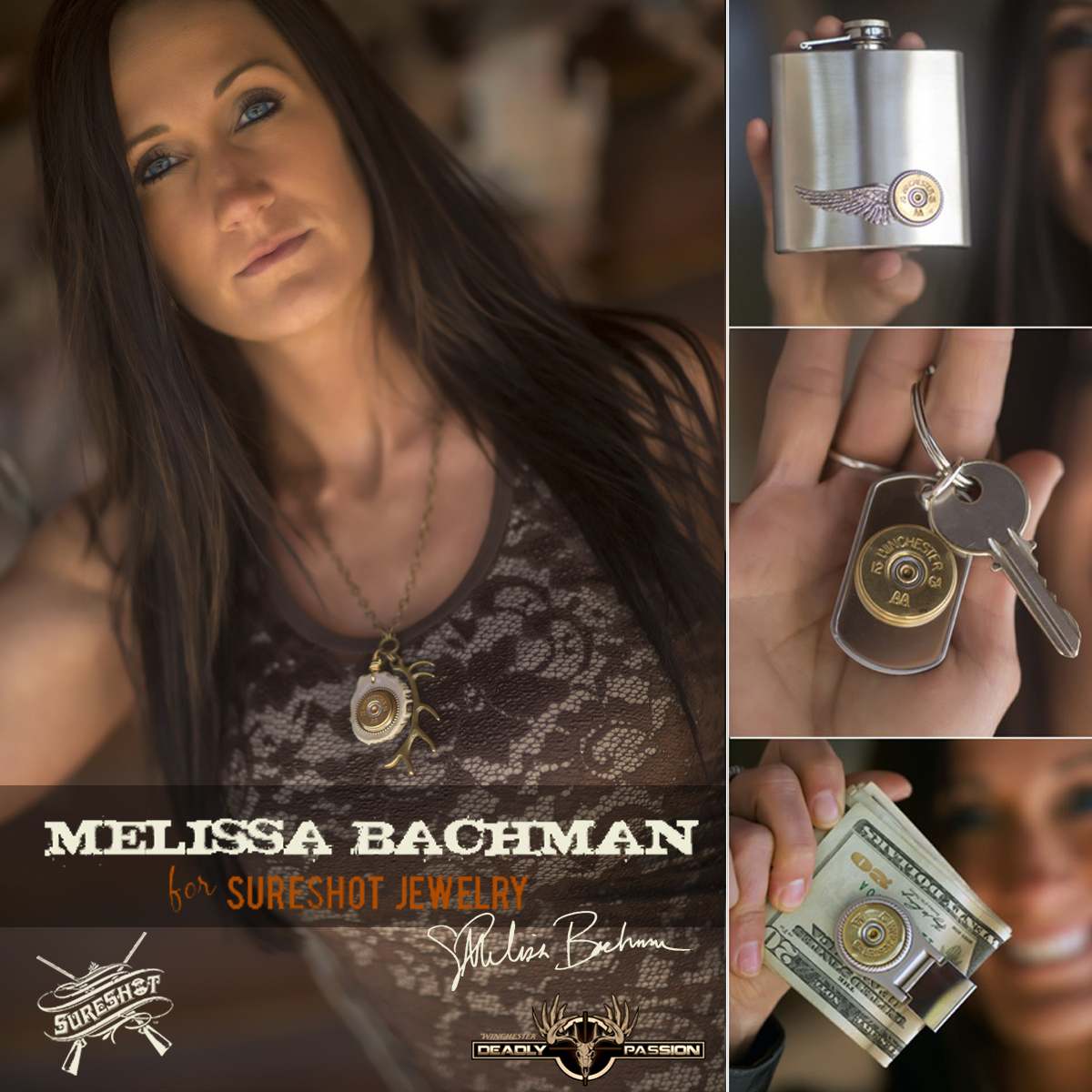 Brian quaca car accident - Melissa Bachman Teams Up With Sureshot Jewelry Ammoland Com Shooting Sports News