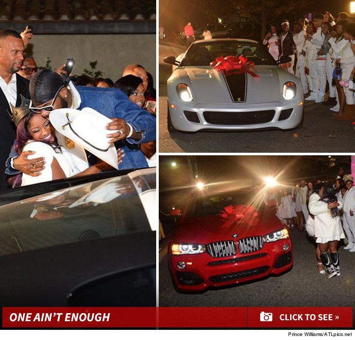 Lil Wayne -- My Daughter Got TWO CARS ... For Her 16th
