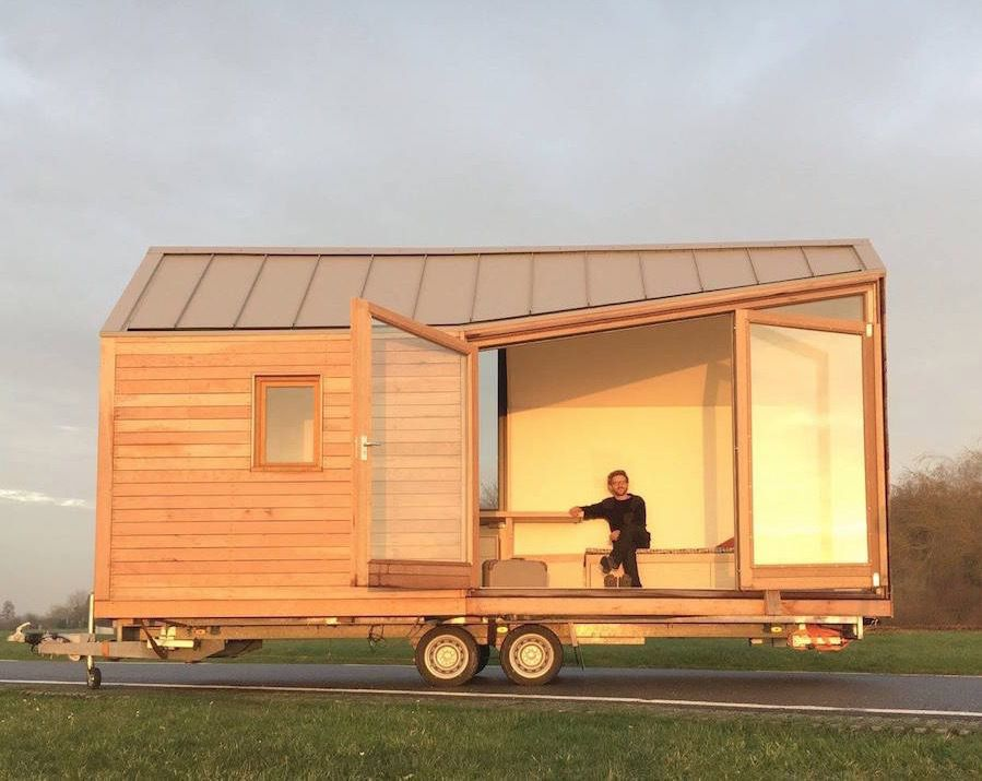 porta palace modern tiny house on wheels - House On Wheels
