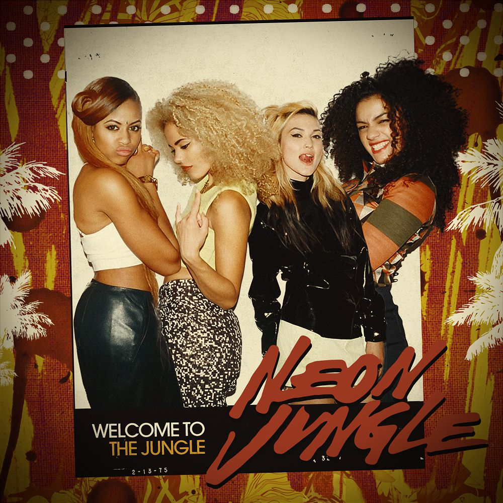 """Neon Jungle """"Welcome to the Jungle"""" (Official Album Tracklist)"""