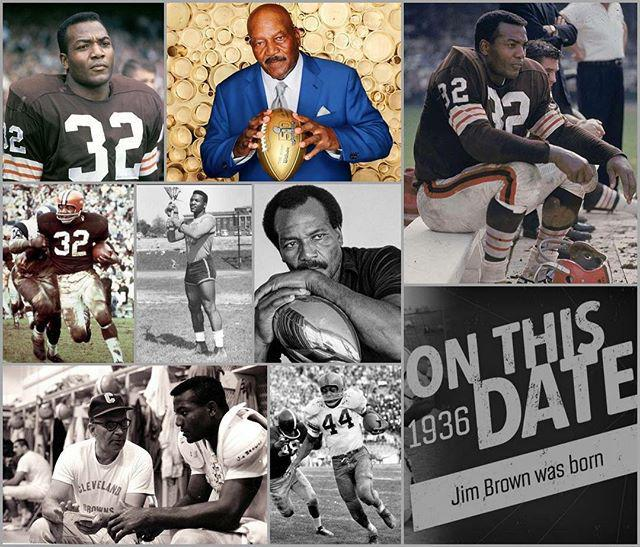 80 years of dominating life! Happy Birthday Jim Brown! Jim ...