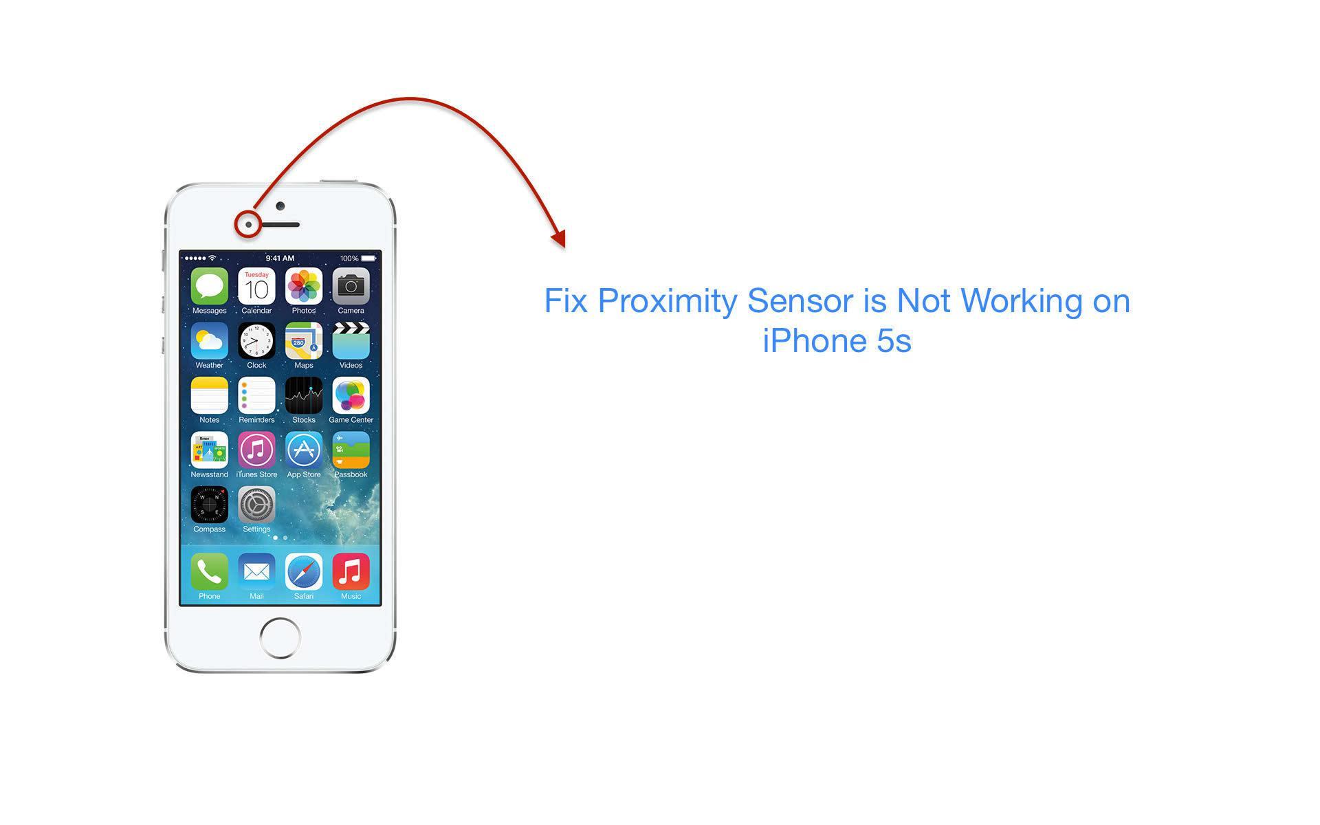 facebook not working on iphone how to fix proximity sensor is not working on iphone 5s 2935