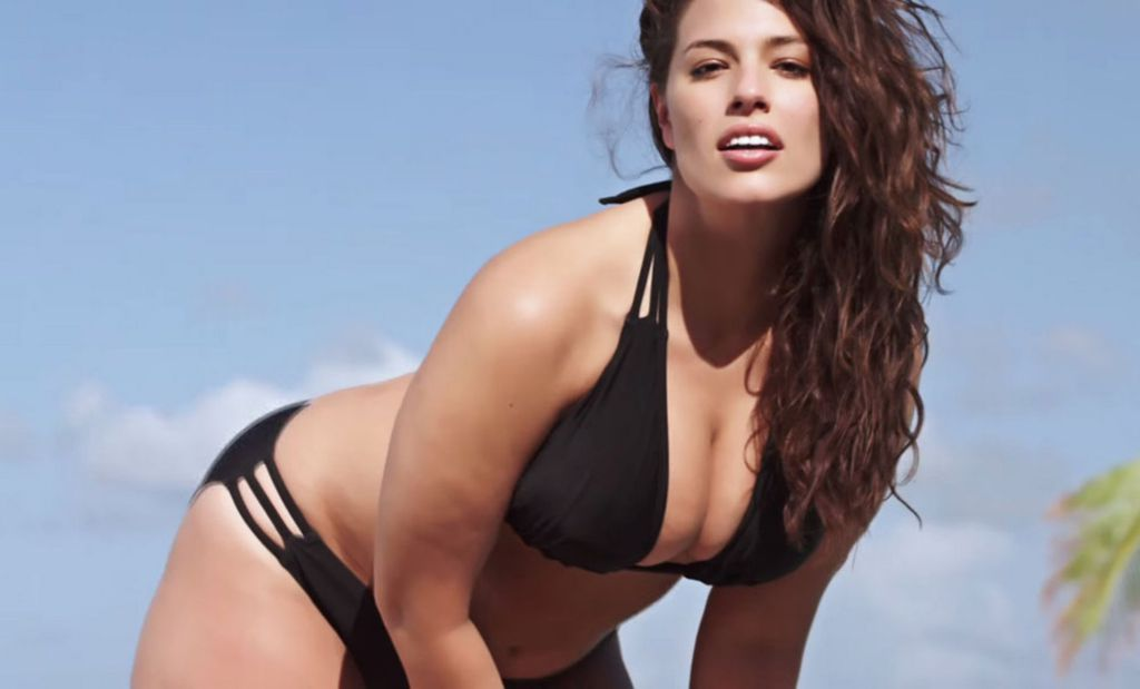 illustrated names ashley graham its first 'plus-size' swimsuit model