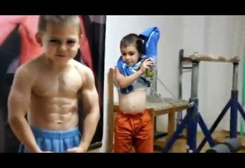 are these kids too ripped for their own good
