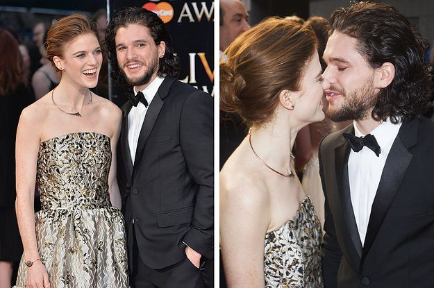 ygritte and jon snow dating in real life So you thought ygritte (rose leslie) was gone turns out, you're wrong she's now officially engaged to jon snow (kit harington)—at least in real life.