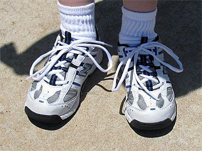 New Balance Shoes With Nike Socks