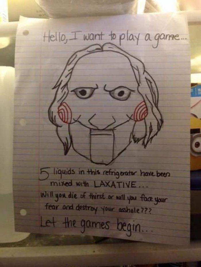Adult joke and game