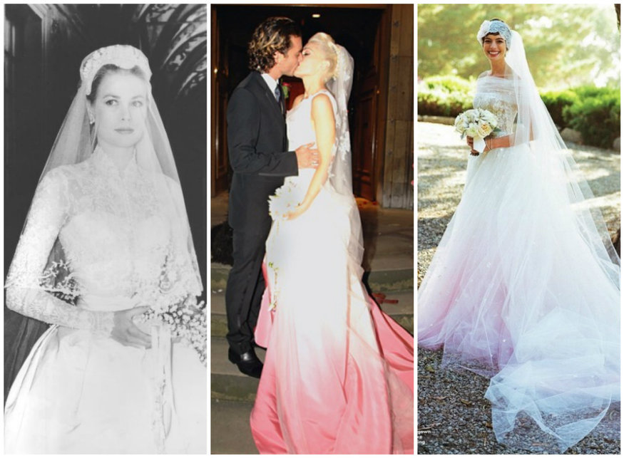 19 best celebrity wedding dresses of all time