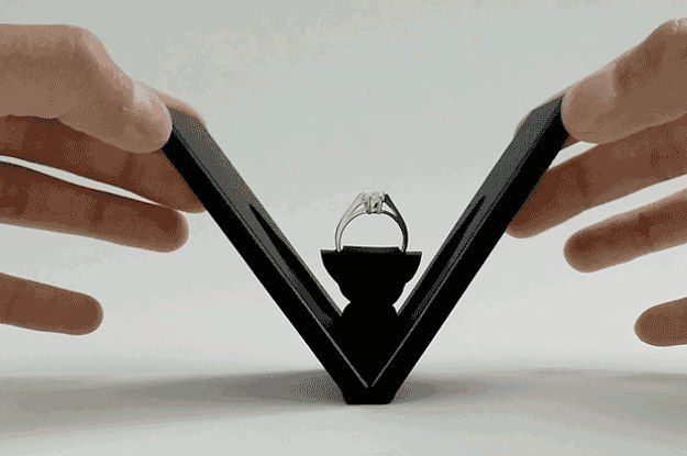 This Nifty Engagement Ring Box Will Make Stealth Proposals So Much Easier