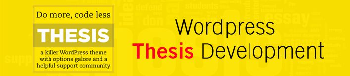 thesis developer option