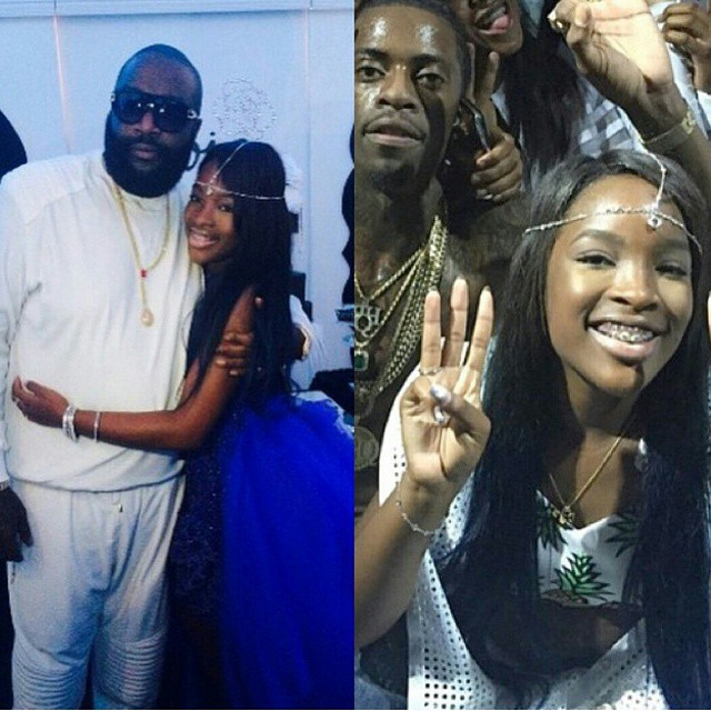 #RickRoss THROWS Parisian Themed Birthday Party For ...