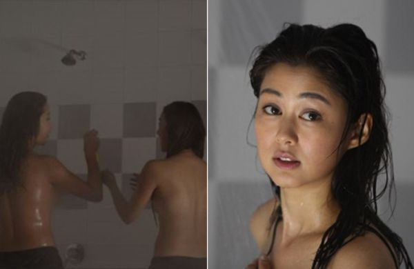 Eliza Sam Not Embarrassed By Group Shower Scene In -9595
