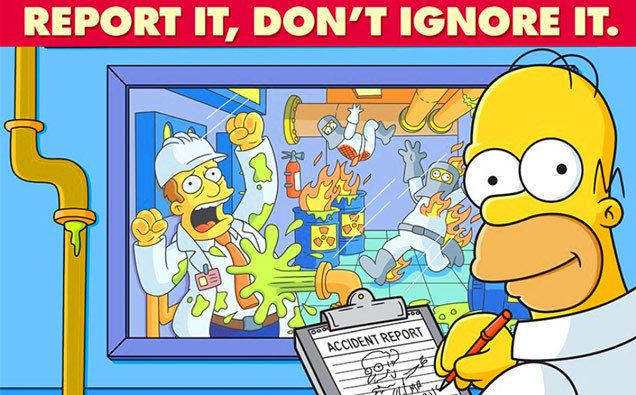 22 Simpsons Safety Posters
