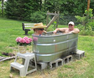 woodfired hot tub in a day