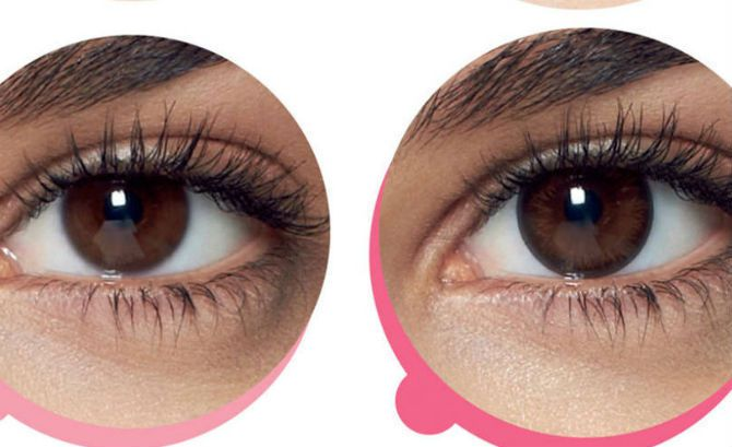 colored contacts that look real new 1 day contact lenses