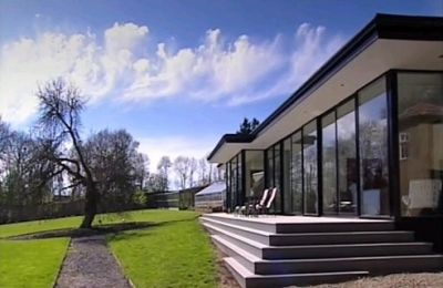 Watch revisited ashford water tower conversion ep 7 for Grand designs back garden