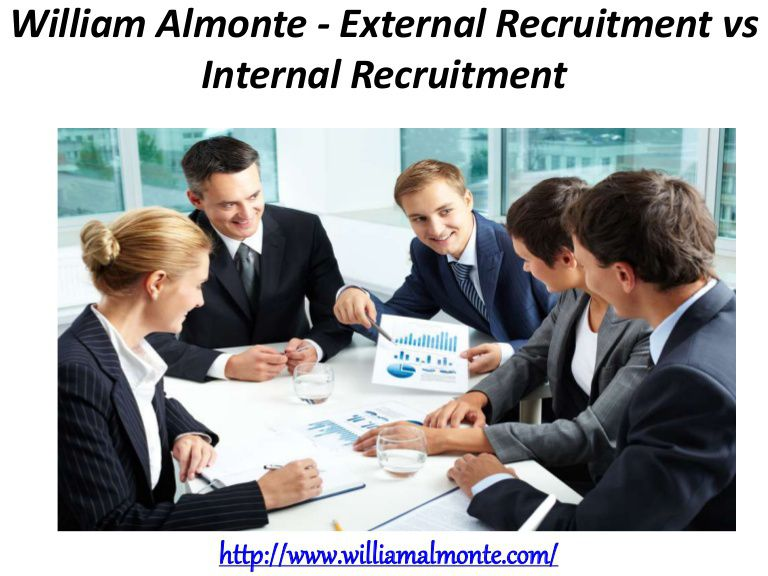 internal recruitment vs external recruitment