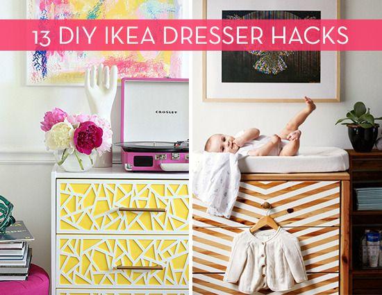 13 amazing ikea dresser hacks to inspire your next diy