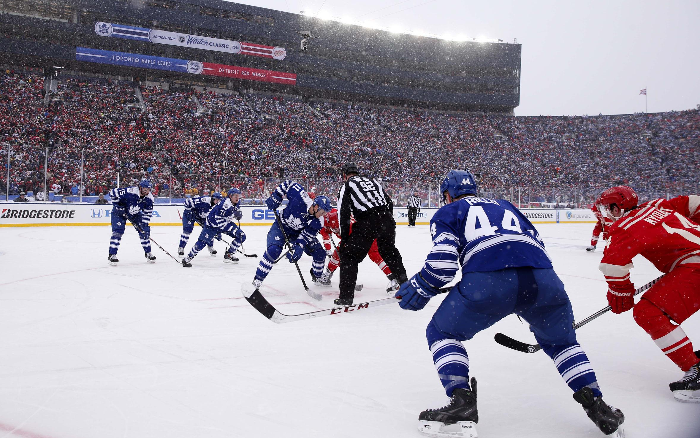 NHL Winter Classic to feature Rangers Sabres at Citi