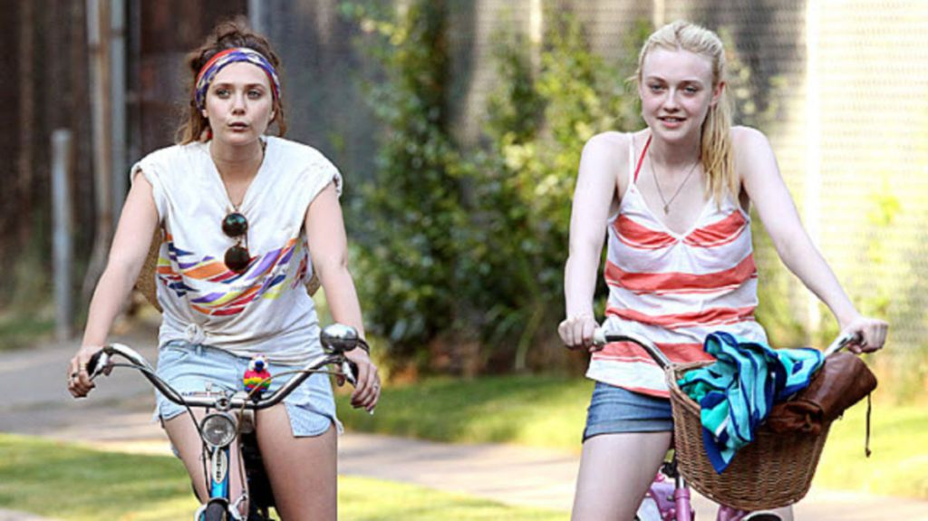 Dakota Fanning And Elizabeth Olsen Try To Lose Their -8666
