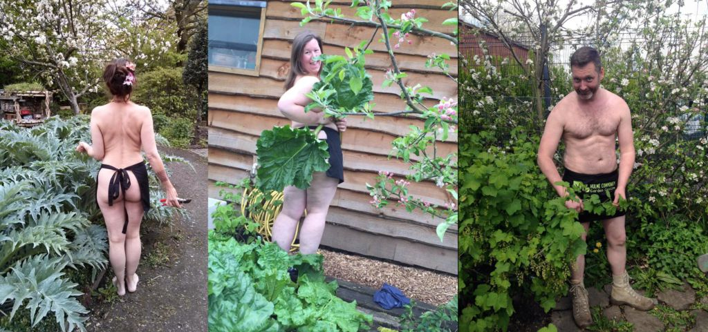World Naked Gardening Day Is A Real Thing And Here 39 S