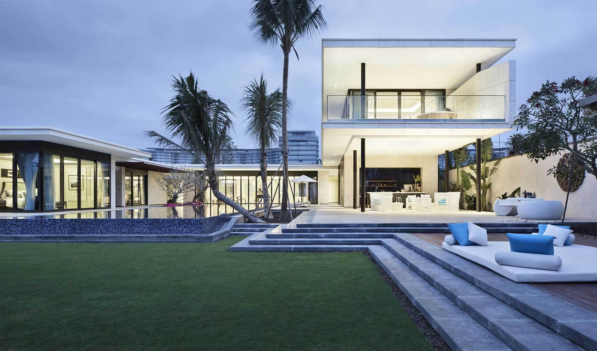 luxury ultramodern chenglu villa by gad