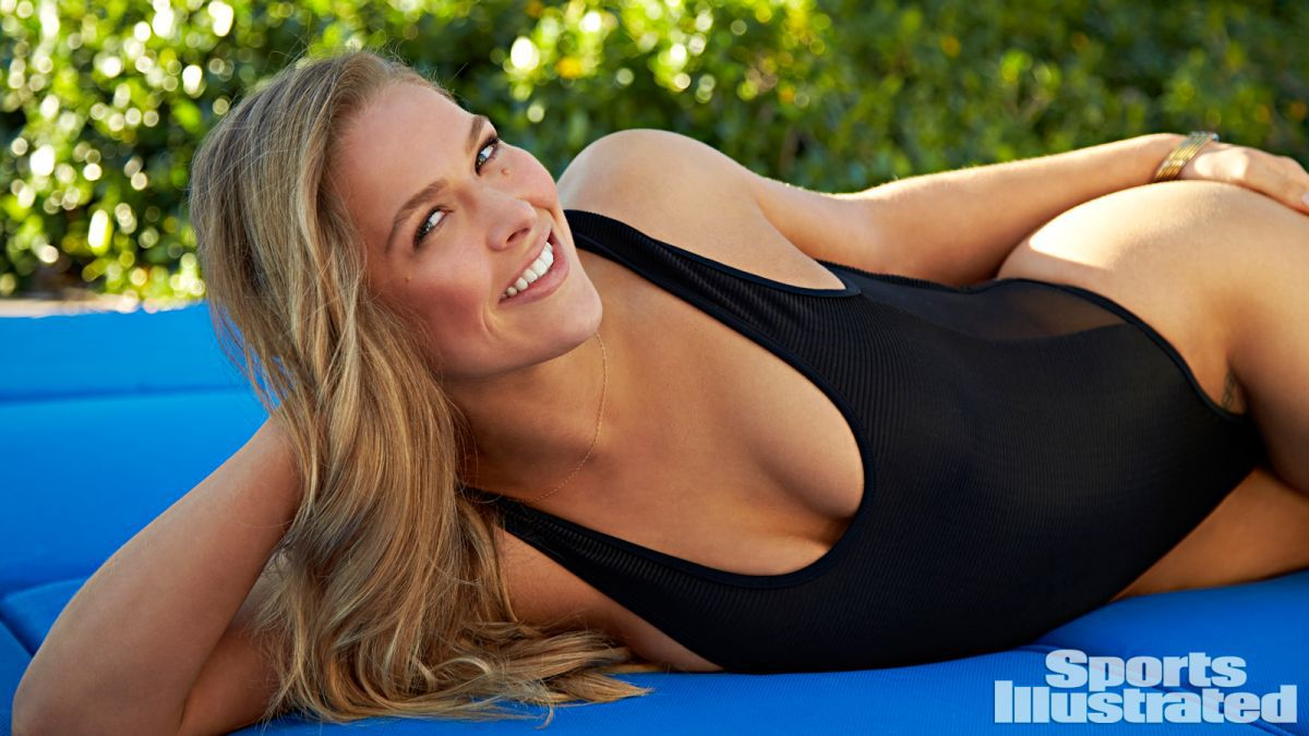 Ronda Rousey Featured In 2015 Sports Illustrated Swimsuit