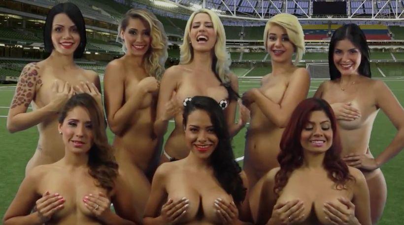 команда голых женщин