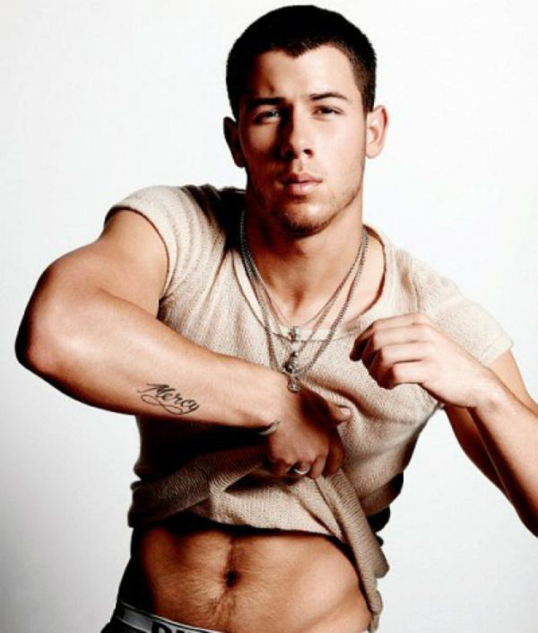 Nick Jonas Strips Down In Even More Semi-Nude Flaunt -7112