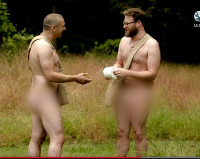 Watch James Franco And Seth Rogen Naked And Afraid-7409