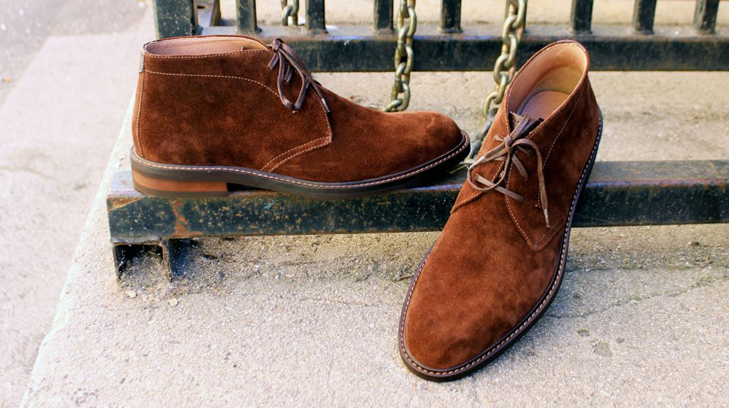 Review: The Nordstrom 1901 Barrett Suede Chukka Boot