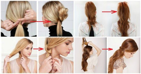 easy ways to style your hair 11 and easy ways to style your hair in less than 2 9970