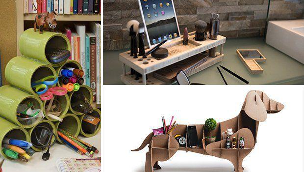 14 Creative U0026 Practical DIY Desk Organization U0026 Storage Ideas    Architecture Art Designs