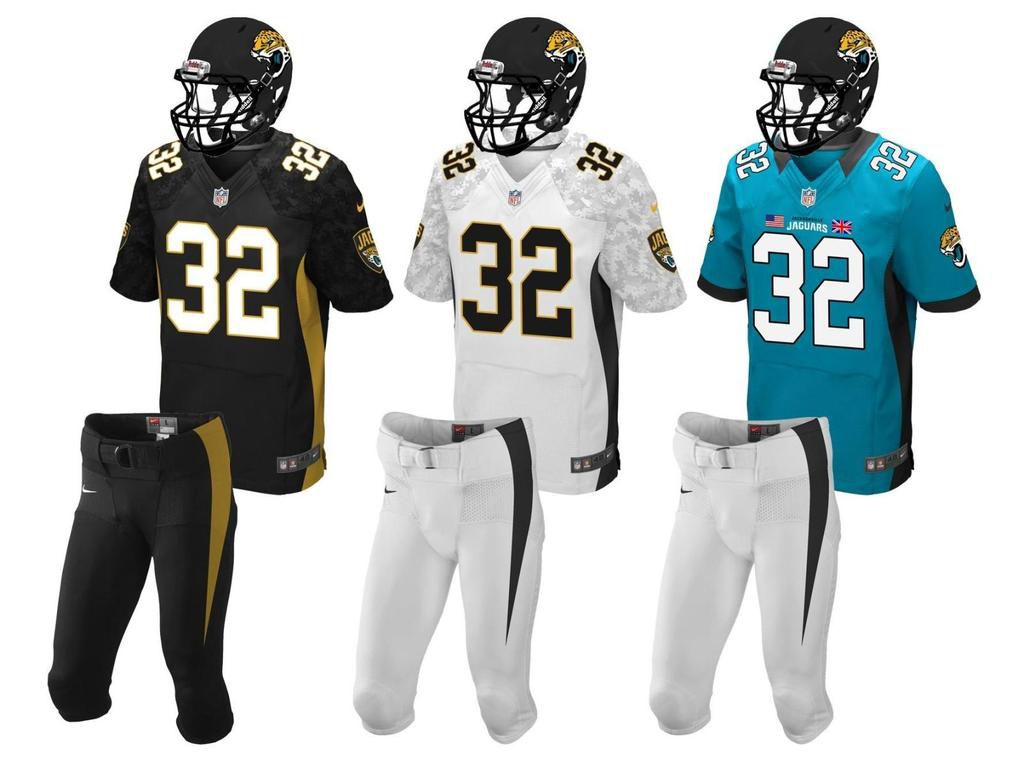 A Very Nice Looking Jacksonville Jaguars New Uniform Concept. Must See!
