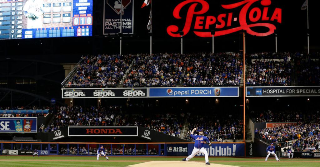 Pepsi Is Departing Citi Field Leaving Behind A Bare Porch