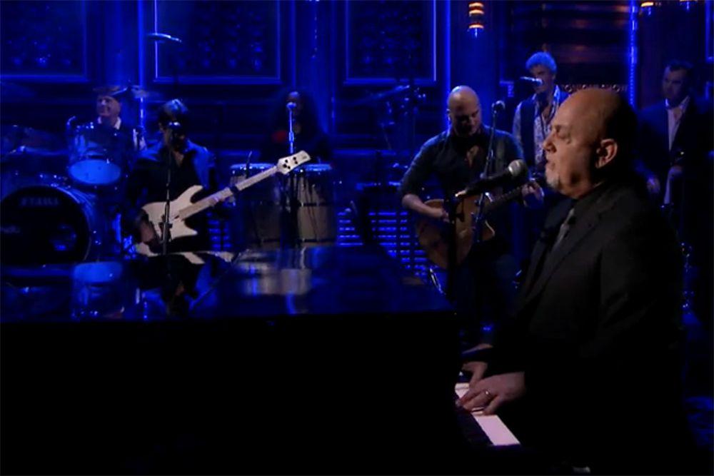 Billy Joel Scenes From An Italian Restaurant On Jimmy Fallon