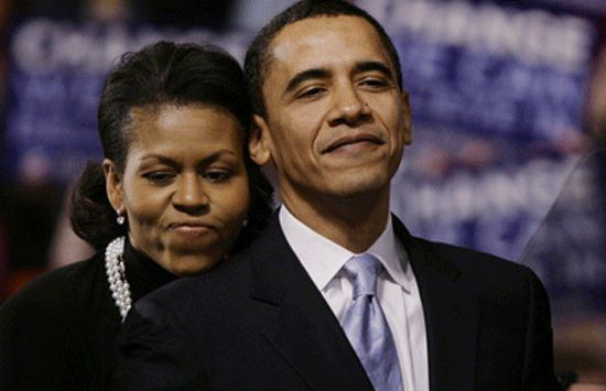 barack obamas wife college thesis