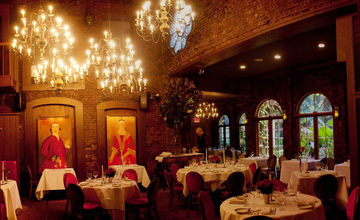 What the 39 most romantic restaurant 39 in new york city can for Best romantic restaurants nyc