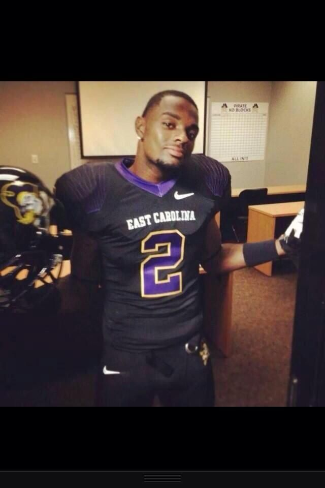 East Carolina's new all black Nike football uniforms for ...
