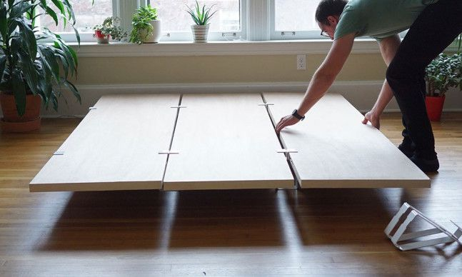 Cool Bed Frame Diy Platform Bed Frame  Cool Material