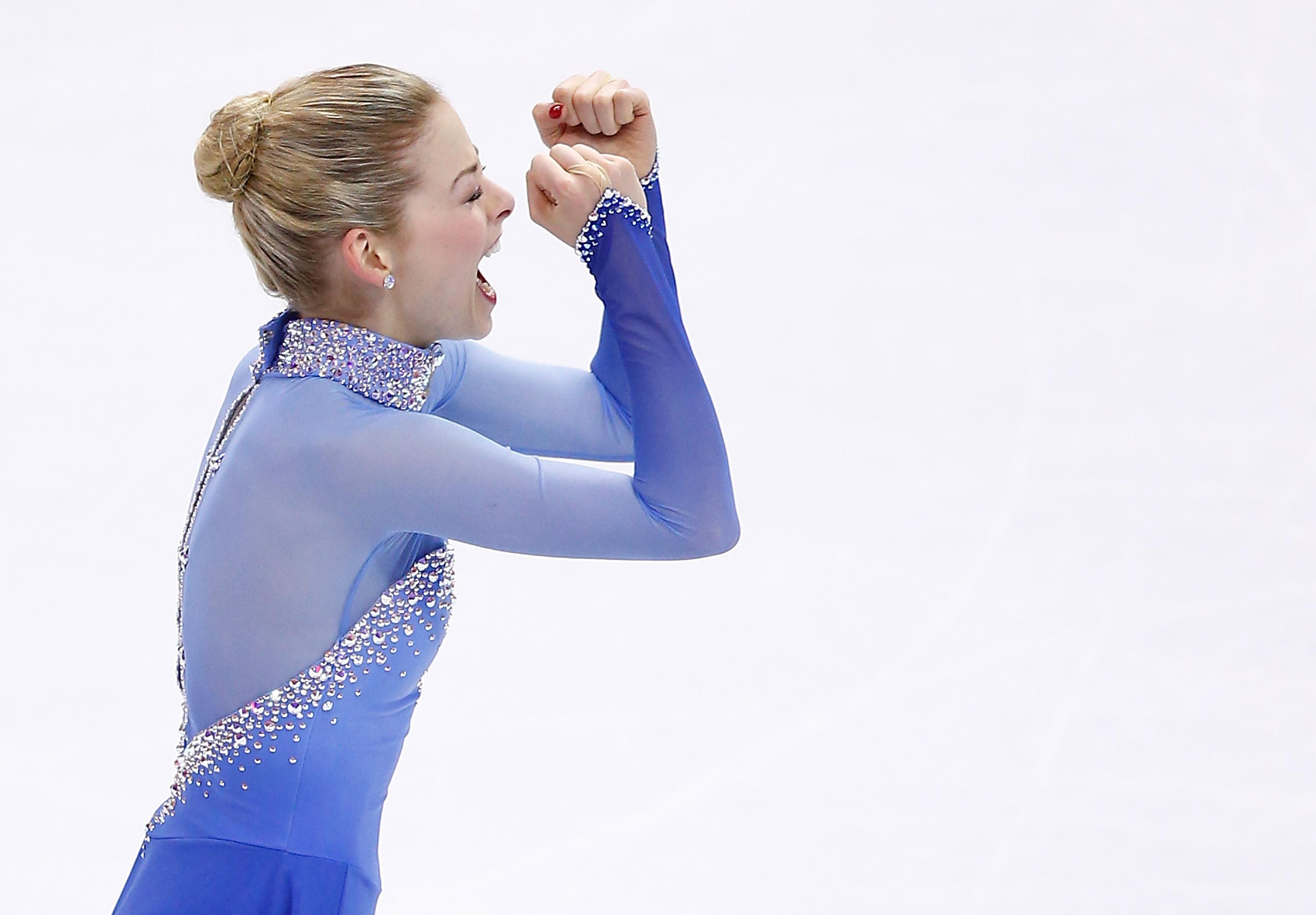 gracie gold wins gold at u