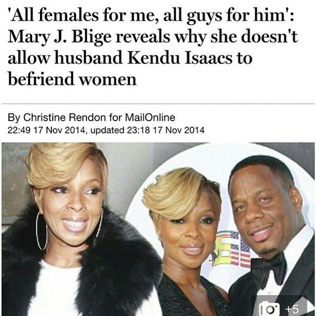 My Husband Came From Work To See This One Of His: Does This Really Work?? Mary J. Blige Doesn't Allow Her