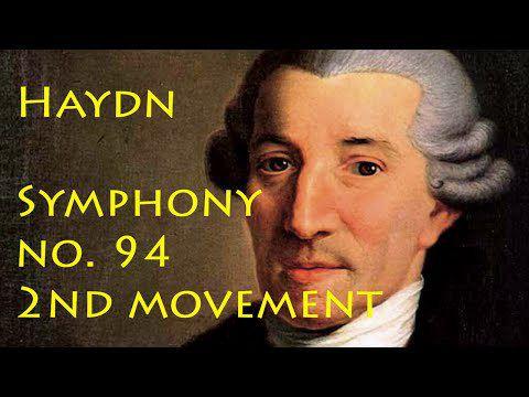 haydn symphony no 94 second movement